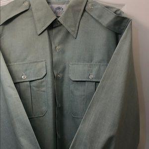 Men's mint green shirt